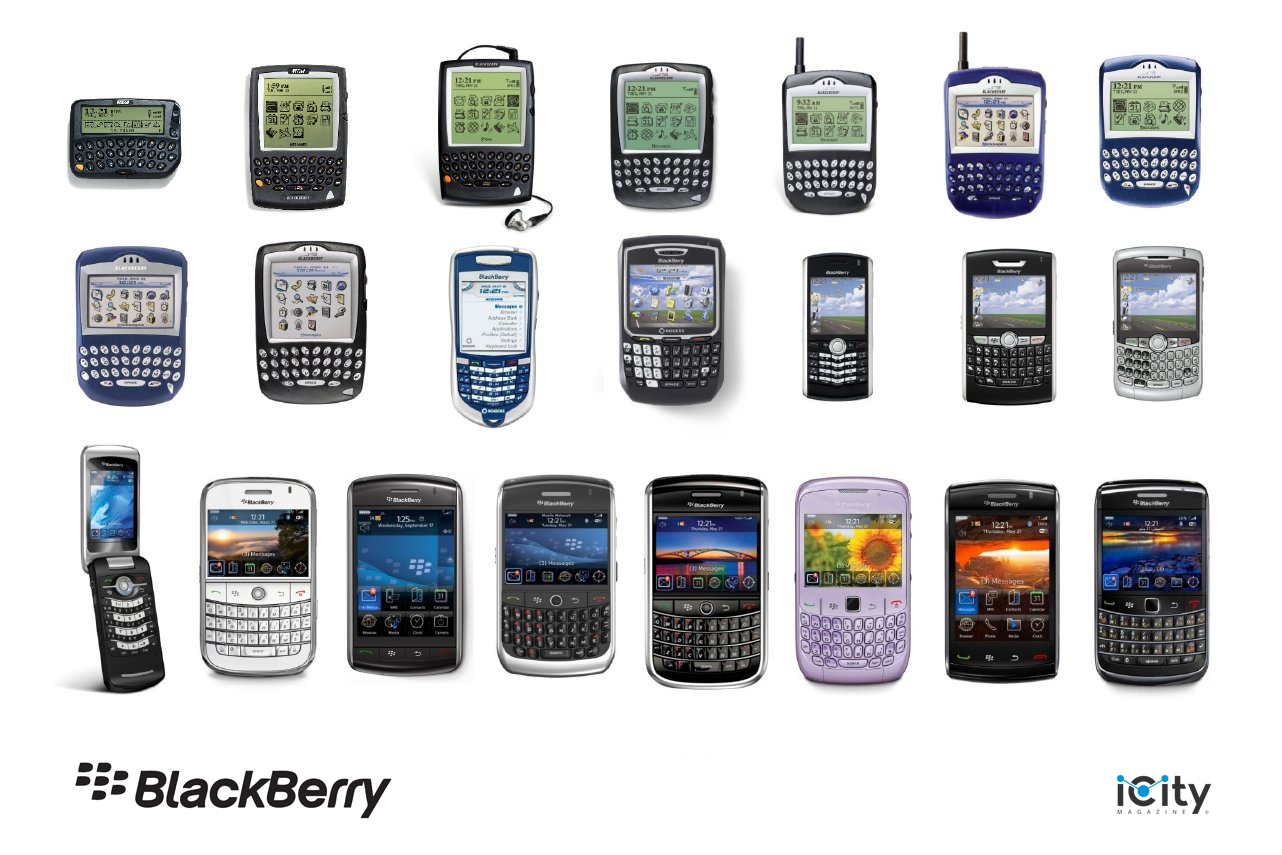 Blackberry Evolution