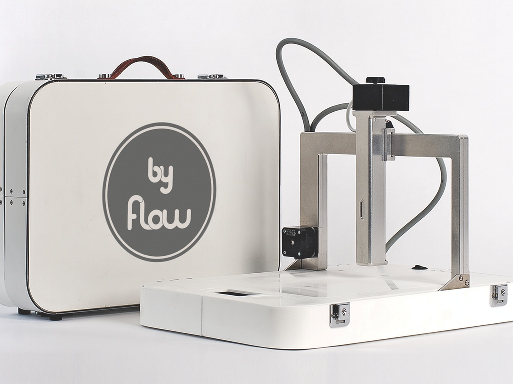 3D by Flow printer